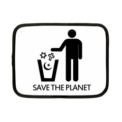 Save The Planet   Religions  Netbook Case (small)