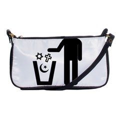 Save The Planet   Religions  Shoulder Clutch Bags