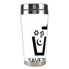 Save The Planet   Religions  Stainless Steel Travel Tumblers