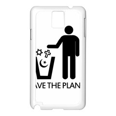 Save The Planet   Religions  Samsung Galaxy Note 3 N9005 Case (white)