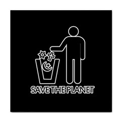 Save The Planet   Religions  Tile Coasters