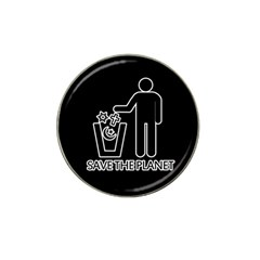 Save The Planet   Religions  Hat Clip Ball Marker (4 Pack)
