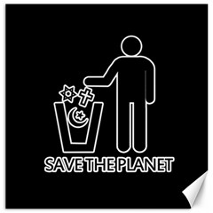 Save The Planet   Religions  Canvas 12  X 12