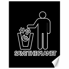 Save The Planet   Religions  Canvas 12  X 16