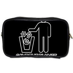 Save The Planet   Religions  Toiletries Bags 2 Side
