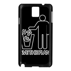 Save The Planet   Religions  Samsung Galaxy Note 3 N9005 Case (black)