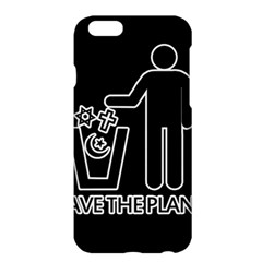 Save The Planet   Religions  Apple Iphone 6 Plus/6s Plus Hardshell Case