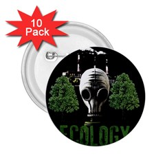 Ecology 2 25  Buttons (10 Pack)
