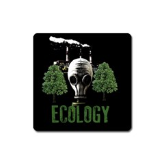 Ecology Square Magnet