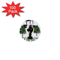 Ecology 1  Mini Buttons (100 Pack)