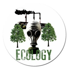 Ecology Magnet 5  (round)