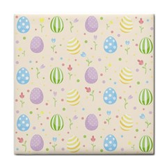Easter Pattern Tile Coasters