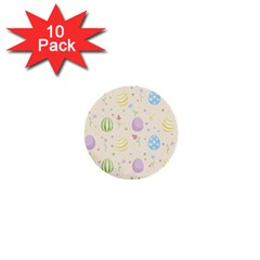 Easter Pattern 1  Mini Buttons (10 Pack)