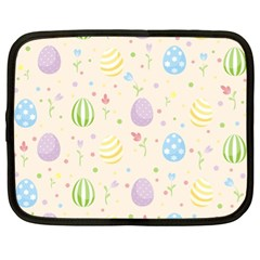 Easter Pattern Netbook Case (xl)