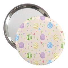 Easter Pattern 3  Handbag Mirrors