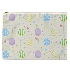 Easter Pattern Cosmetic Bag (xxl)