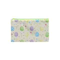 Easter Pattern Cosmetic Bag (xs)
