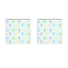 Easter Pattern Cufflinks (square)