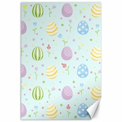 Easter Pattern Canvas 12  X 18