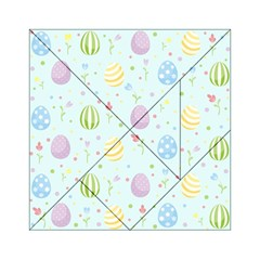 Easter Pattern Acrylic Tangram Puzzle (6  X 6 )