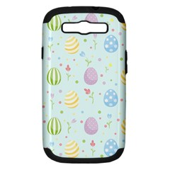 Easter Pattern Samsung Galaxy S Iii Hardshell Case (pc+silicone)