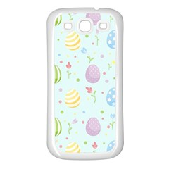 Easter Pattern Samsung Galaxy S3 Back Case (white)