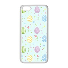 Easter Pattern Apple Iphone 5c Seamless Case (white)