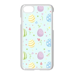 Easter Pattern Apple Iphone 8 Seamless Case (white)