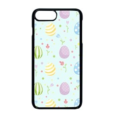 Easter Pattern Apple Iphone 8 Plus Seamless Case (black)