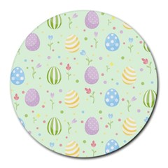 Easter Pattern Round Mousepads