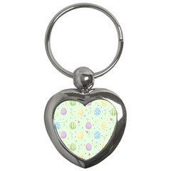 Easter Pattern Key Chains (heart)
