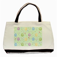 Easter Pattern Basic Tote Bag (two Sides)