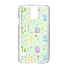 Easter Pattern Samsung Galaxy S5 Case (white)