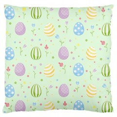 Easter Pattern Standard Flano Cushion Case (one Side)