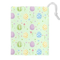 Easter Pattern Drawstring Pouches (xxl)