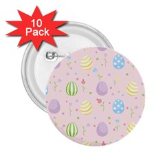 Easter Pattern 2 25  Buttons (10 Pack)
