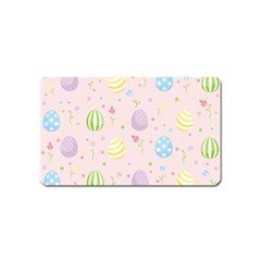 Easter Pattern Magnet (name Card)