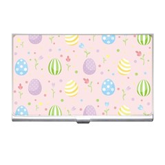 Easter Pattern Business Card Holders