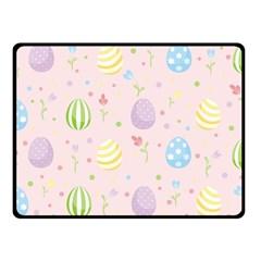 Easter Pattern Fleece Blanket (small)