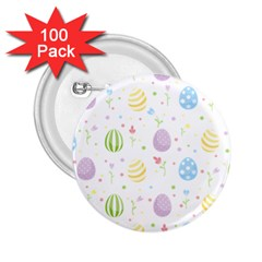 Easter Pattern 2 25  Buttons (100 Pack)