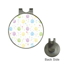 Easter Pattern Hat Clips With Golf Markers