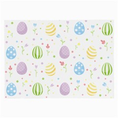 Easter Pattern Large Glasses Cloth
