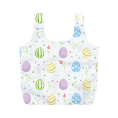 Easter Pattern Full Print Recycle Bags (m)