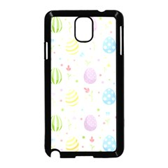 Easter Pattern Samsung Galaxy Note 3 Neo Hardshell Case (black)