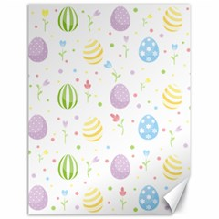 Easter Pattern Canvas 18  X 24