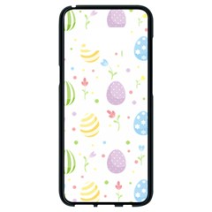Easter Pattern Samsung Galaxy S8 Black Seamless Case