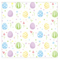 Easter Pattern Large Satin Scarf (square)
