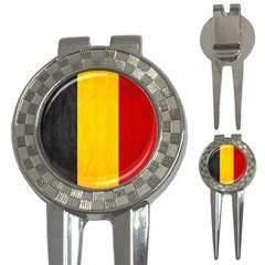 Belgium Flag 3 In 1 Golf Divots