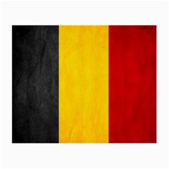 Belgium Flag Small Glasses Cloth (2 Side)