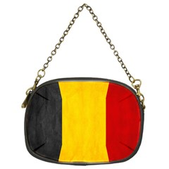 Belgium Flag Chain Purses (two Sides)